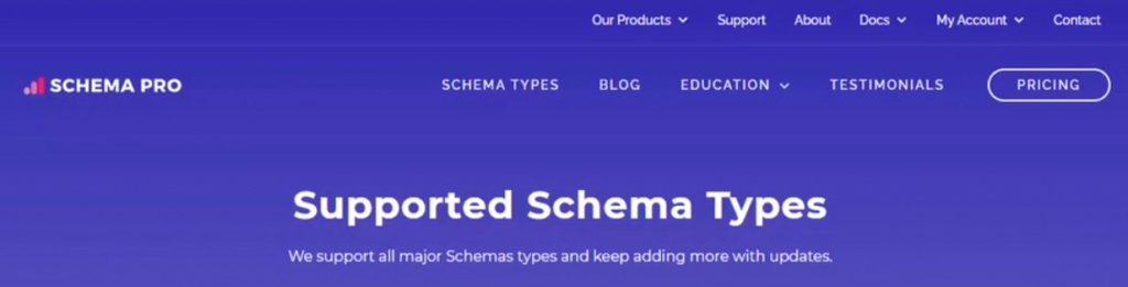 Extension payante Schema Pro